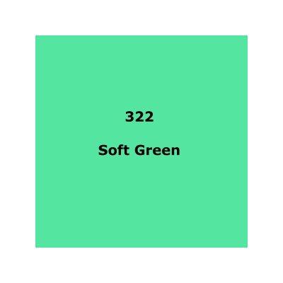 Lee Filters 322 Soft Green Sheet