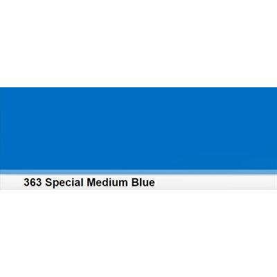 Lee Filters 363 Special Medium Blue Roll