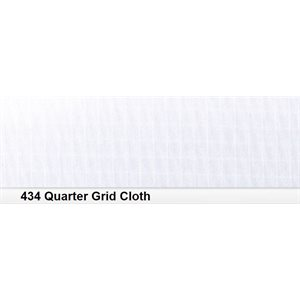 434 Quater Grid Cloth roll, 1.22m X 7.62m / 4' X 25'
