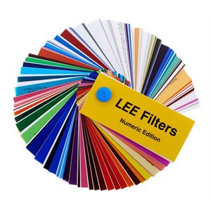 Lee Filters Swatch Book Numeric Edition Blue Pin