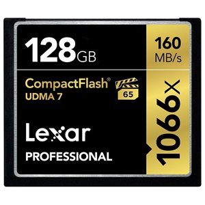 Lexar Pro CompFlash 128GB 1066x