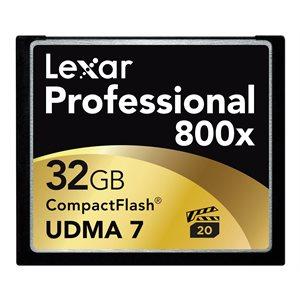 LEXAR PRO CF 32GB 800X