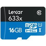 LEXAR 16GB MICRO SD 633 W ADAPTOR