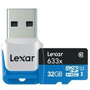 LEXAR 32GB MICRO SD 633 W ADAPTOR