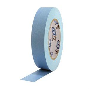 """PRO Tape Pro 46 Light Blue Colored Crepe Paper Masking Tape 1"""" 54m / 60YRD - 3"""" Core"""