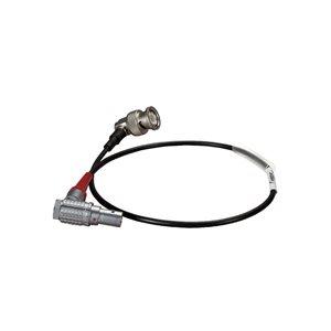 AMBIENT Cable Lemo 5-pin RA, outlet 6 o clock, to BNC RA