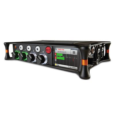 SOUND DEVICES 6 INPUT 8-TRACK AUDIO RECORDER / MIXER w / USB