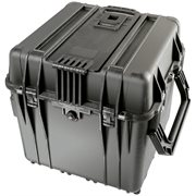 PELICAN #340 CUBE CASE WITH DIVIDERS - BLACK