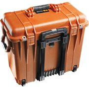 PELICAN # 1440 CASE WITH DIVIDERS AND LID ORGANISER - ORANGE