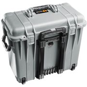 PELICAN # 1440 CASE WITH DIVIDERS AND LID ORGANISER - SILVER