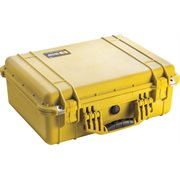 PELICAN # 1520 CASE WITH PADDED DIVIDER SET - YELLOW