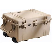 PELICAN # 1630 CASE WITH DIVIDER SET - DESERT TAN