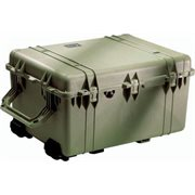 PELICAN # 1630 CASE WITH DIVIDER SET - OLIVE DRAB GREEN