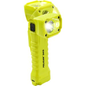 Pelican 3415iY LED Torch & Right Angled Area Light