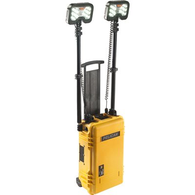 Pelican 9460M 2-Head Remote Area Lighting System Gen 3 Mobility- Yellow