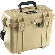 Pelican 1437Dtod 1430 Case With Office Divider And Lid Organiser - Desert Tan