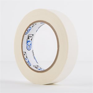 PERMACEL PAPER TAPE WHITE 25MM X 50M