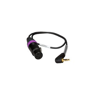 Ambient Recording Adapter cable f. Sony camcorders, dual mono, 0,5 m