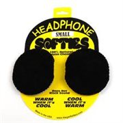 PSC HEADPHONE SOFTIE COVERS BLACK