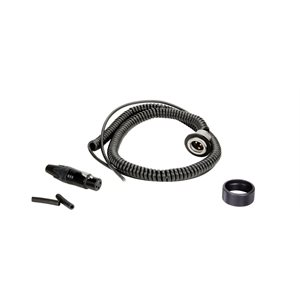 AMBIENT coiled cable set for QX 5130 and QXS 5130, mono XLR3