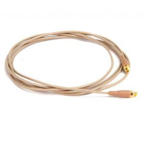 MiCon Cable 1.2m length - Kevlar reinforced - male to female adaptor included - Pink.