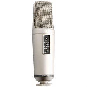 "NT2-A Multi-pattern 1"" dual condenser microphone - omni, cardioid, figure-8 - HPF & Pad."