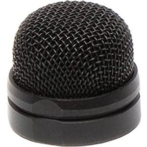 Pin-Head Black replacement mesh head for PinMic - customisable for enhanced camouflage.