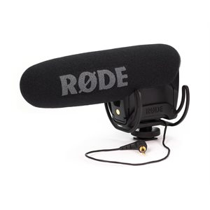 VideoMic Pro R Professional super cardioid on-camera mic- Rycote Lyre mounted