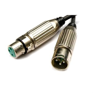 RODE XLR43 Professional-grade Switchcraft connectors.