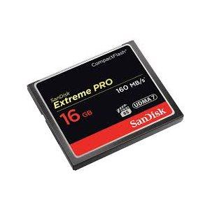 SANDISK EXTREME PRO CF 16GB 160MBPS