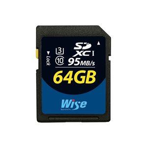 WISE SDXC UHS-I 64GB