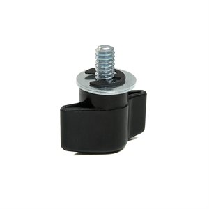 SHAPE MALE SCREW KNOB ¼-20