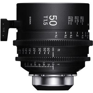 Sigma 50mm T1.5 Cine Lens PL Mount / i-Technology