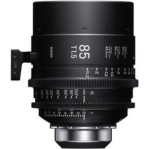 Sigma 85mm T1.5 Cine Lens PL Mount / i-Technology