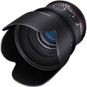 50mm T1.5 VDSLR II Canon EOS Full Frame