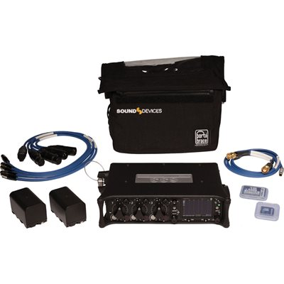 Sound Devices 6 Input10-Track Mixer & Recorder Kit