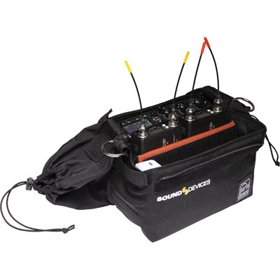 SOUND DEVICES Production case for use with the 633 mixer