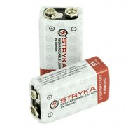 STRYKA 7252 9V 525 mAh RECHARGEABLE BATTERY