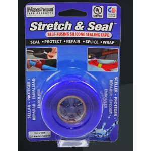 STYLUS STRETCH AND SEAL TAPE - BLUE