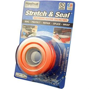 STYLUS STRETCH AND SEAL TAPE - ORANGE