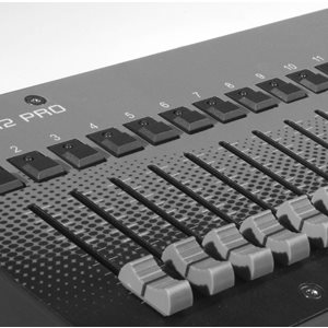 12 Channel DMX Manual Desk Controller