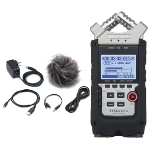 ZOOM H4nPRO DIGITAL RECORDER + ACCESSORY PACK