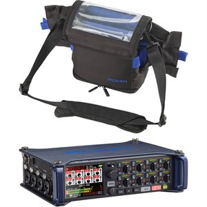 ZOOM F8 FIELD RECORDER + PCF-8 CARRY CASE