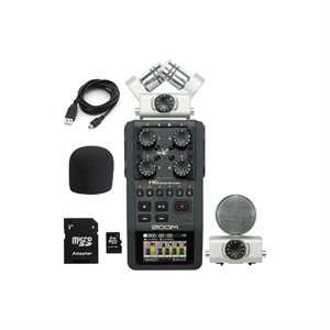 ZOOM H6 DIGITAL RECORDER + ACCESSORY PACK