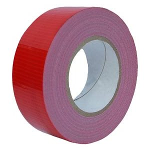 STYLUS GAFFERS TAPE RED 48MM X 25M