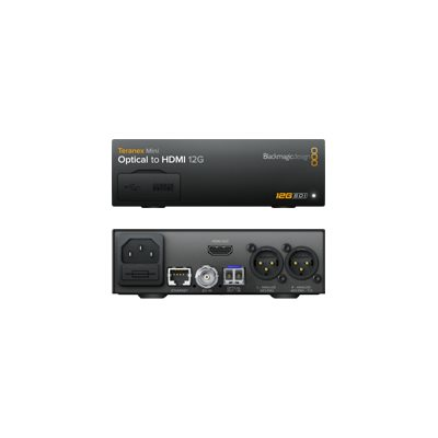 BLACKMAGIC DESIGN TERANEX MINI - OPTICAL TO HDMI 12G