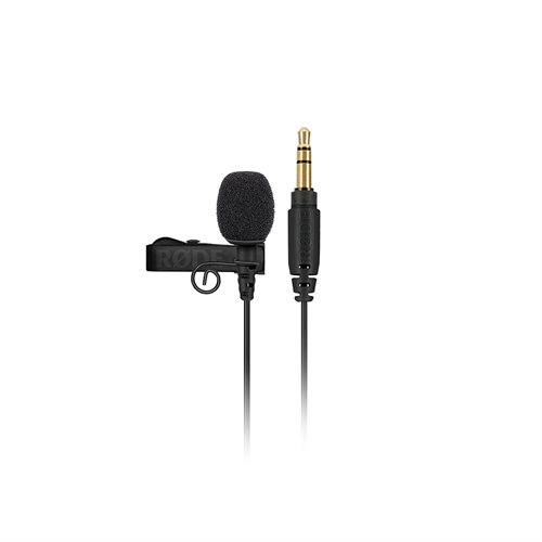 RODE Professional-grade Lavalier microphone with 3.5mm TRS connector