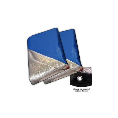 SPACE BLANKET BLUE 5' x 7' (152cm x 213cm)